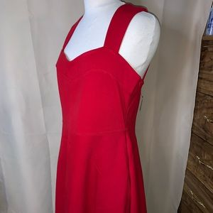 The Vanity Room Red Cutout Dress